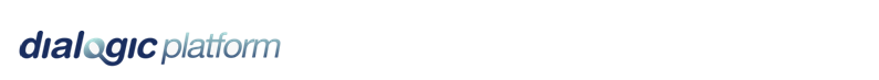 Dialogic Platform banner
